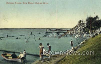 Bois Blane - Detroit, Michigan MI Postcard