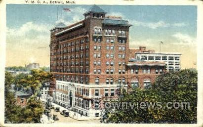 YMCA Bldg - Detroit, Michigan MI Postcard