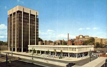 Professional Plaza - Detroit, Michigan MI Postcard