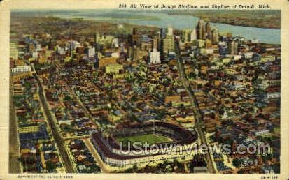 Briggs Stadium - Detroit, Michigan MI Postcard