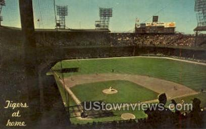 Tiger Stadium - Detroit, Michigan MI Postcard