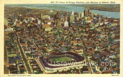 Briggs Stadium - Detroit, Michigan MI Postcard