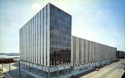US Post Office - Detroit, Michigan MI Postcard