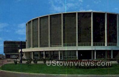 Convention Arena - Detroit, Michigan MI Postcard