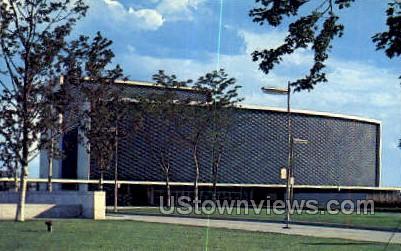 Henry & Edsel Ford Aud - Detroit, Michigan MI Postcard