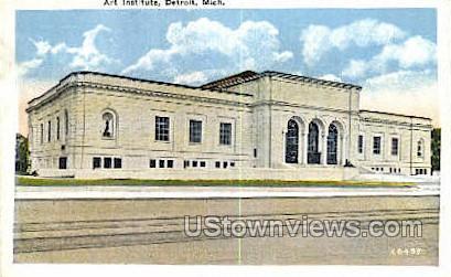 Art Institute - Detroit, Michigan MI Postcard