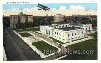 Art Centre - Detroit, Michigan MI Postcard