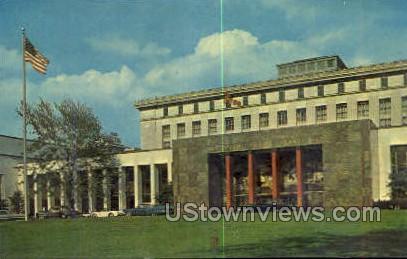 Detroit Main Library - Michigan MI Postcard
