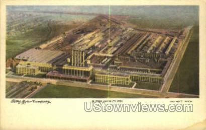 Ford Motor Co. - Detroit, Michigan MI Postcard