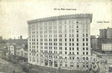 Pontchartrain Hotel - Detroit, Michigan MI Postcard