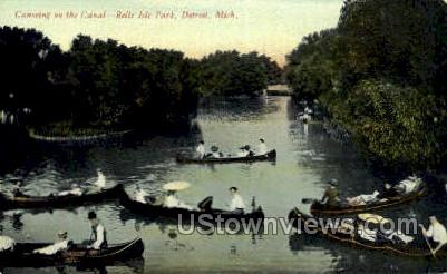 Belle Isle Park - Detroit, Michigan MI Postcard
