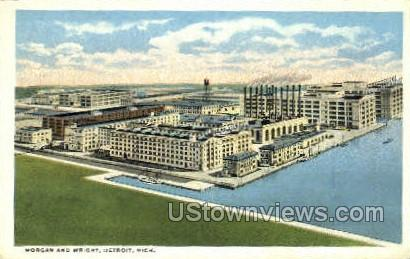 Morgan & Wright - Detroit, Michigan MI Postcard