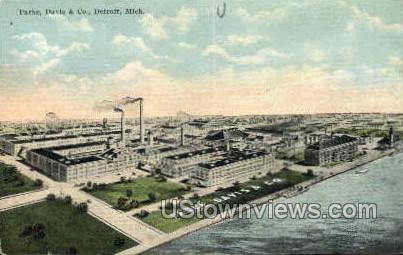 Parke, Davis & Co. - Detroit, Michigan MI Postcard