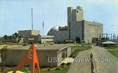 Enrico Fermi Atomic Power Plant - Detroit, Michigan MI Postcard