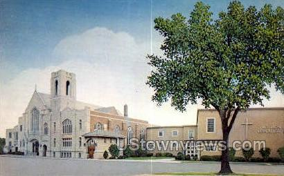 Evangelical Lutheran Church - Detroit, Michigan MI Postcard