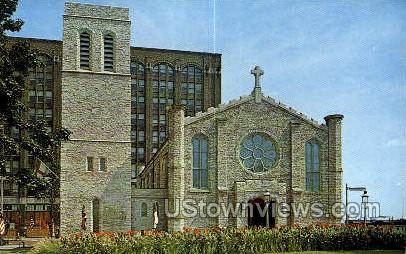 Mariners' Church - Detroit, Michigan MI Postcard