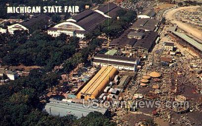 Michigan State Fair - Detroit Postcard