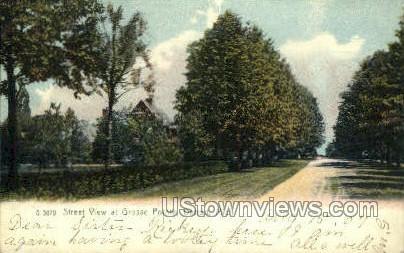 Grosse Pointe - Detroit, Michigan MI Postcard