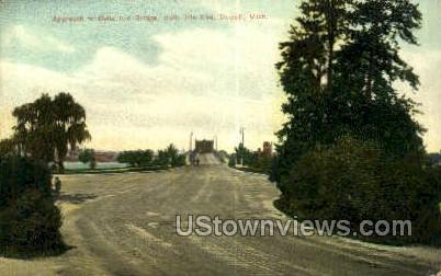 Belle Isle End - Detroit, Michigan MI Postcard