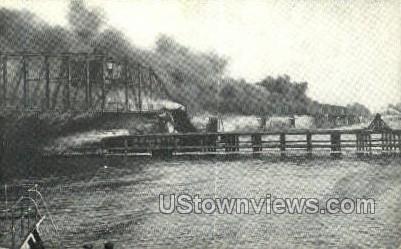 Belle Isle Bridge - Detroit, Michigan MI Postcard