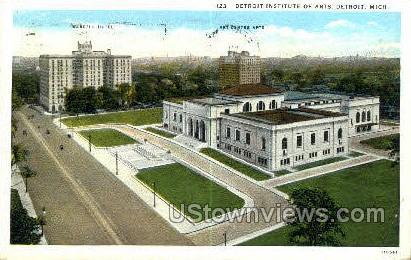 Detroit Institute of Arts - Michigan MI Postcard