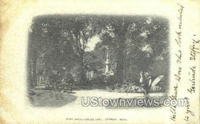 East Grand Circus Park - Detroit, Michigan MI Postcard