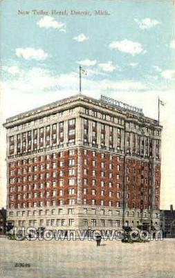 Tuller Hotel - Detroit, Michigan MI Postcard