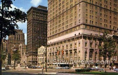 Sheraton Cadillac Hotel - Detroit, Michigan MI Postcard