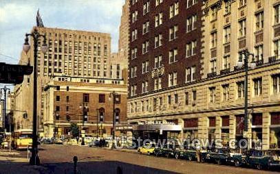 Hotel Pick-Fort Shelby - Detroit, Michigan MI Postcard