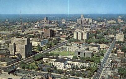 Cultural Center Area - Detroit, Michigan MI Postcard
