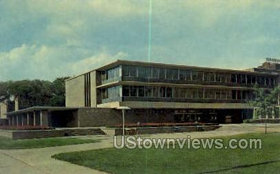 Wayne State University - Detroit, Michigan MI Postcard