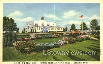 Emil Huck's Inn - Detroit, Michigan MI Postcard