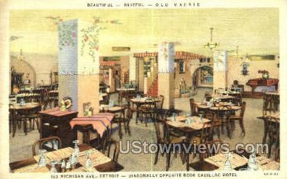 Old Madrid - Detroit, Michigan MI Postcard