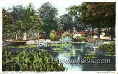 Belle Isle - Detroit, Michigan MI Postcard