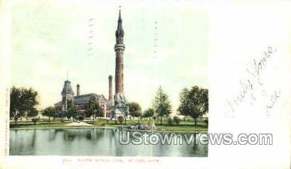 Water Works Park - Detroit, Michigan MI Postcard