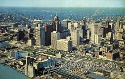 Mariners' Church - Detroit, Michigan MI Postcard