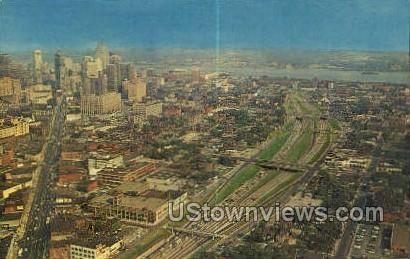 John Lodge - Detroit, Michigan MI Postcard