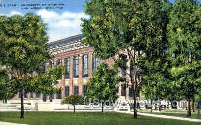 University of Michigan - Detroit Postcard