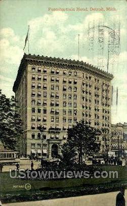 Hotel Pontchartrain - Detroit, Michigan MI Postcard