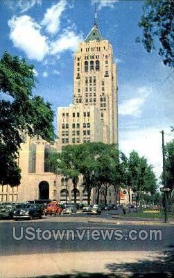 Fisher Bldg - Detroit, Michigan MI Postcard