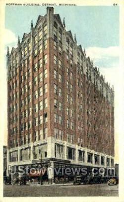 Hoffman Bldg - Detroit, Michigan MI Postcard