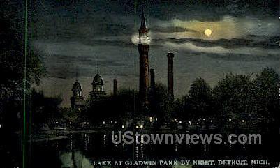 Gladwin park - Detroit, Michigan MI Postcard