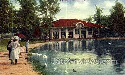 Lake Palmer Park - Detroit, Michigan MI Postcard