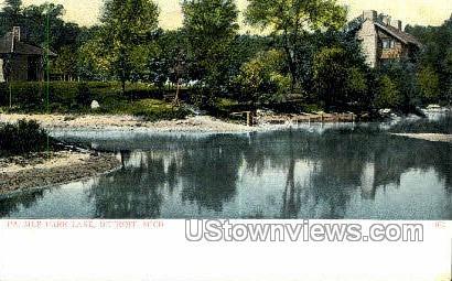 Palmer Park Lake - Detroit, Michigan MI Postcard