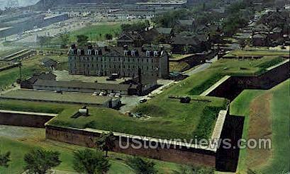 Fort Wayne Military Museum - Detroit, Michigan MI Postcard