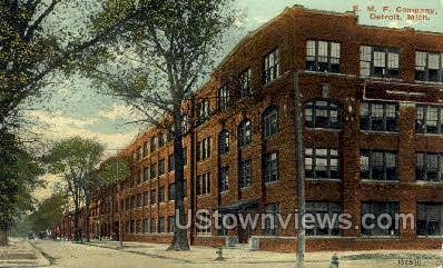E.M.F. Company - Detroit, Michigan MI Postcard