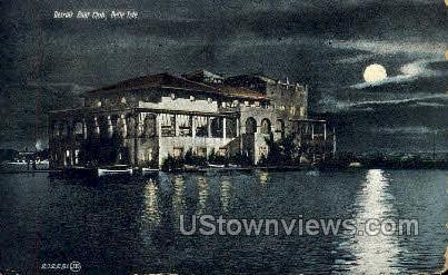Detroit Boat Club, Belle Isle Park - Michigan MI Postcard