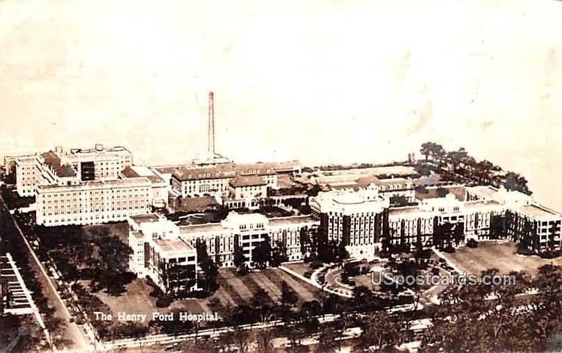 Henry Ford Hospital - Detroit, Michigan MI Postcard