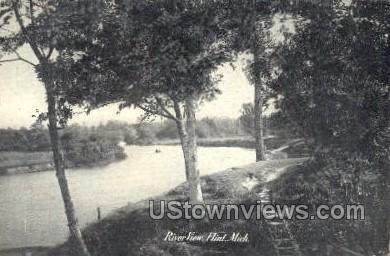 River View - Flint, Michigan MI Postcard