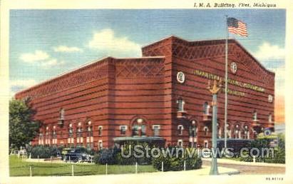 I. M. A. Building - Flint, Michigan MI Postcard